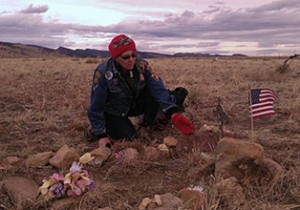 Mary Gilmer at the Crash Site FI