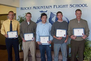 2011 Inaugural Alex Gilmer Flight School Scholarship