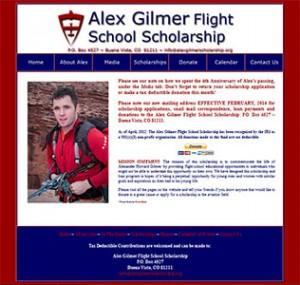 Old Scholarship Website